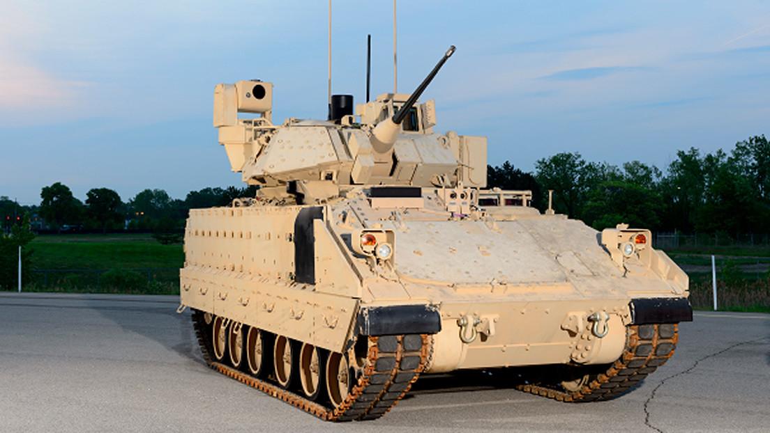 El Ejército de EE.UU. recibe los primeros blindados Bradley 'inteligentes'