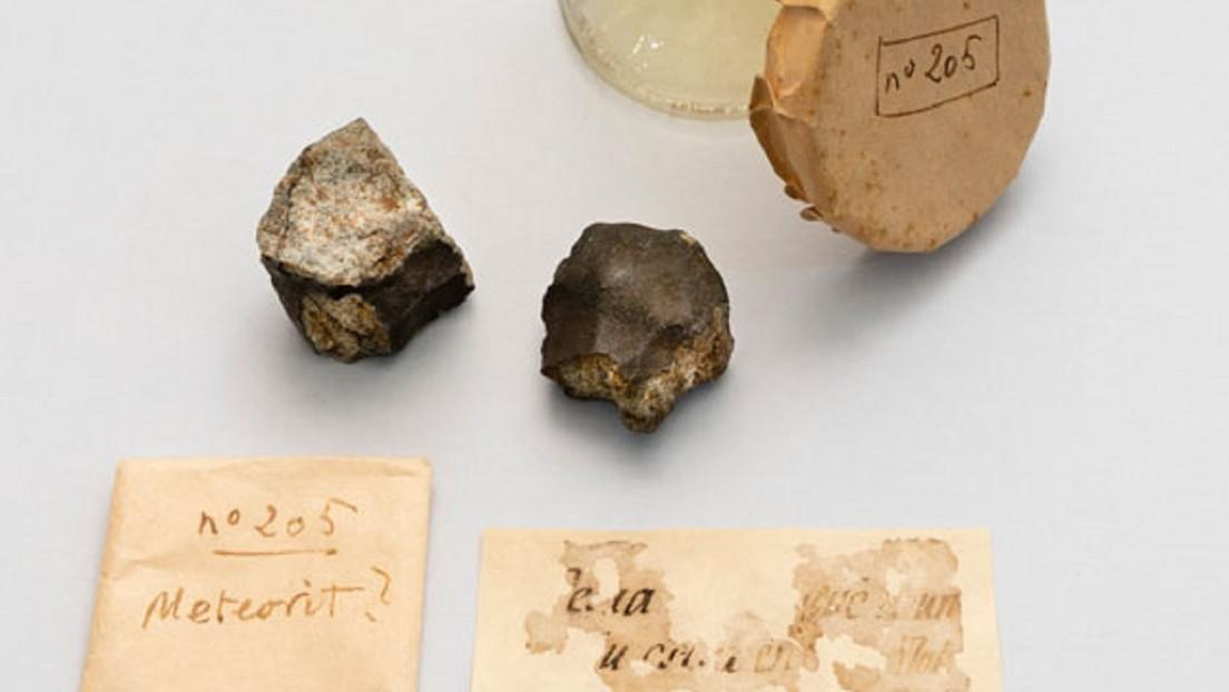 FOTOS: Hallan dos fragmentos de un meteorito que cayó en 1703 y descubren su origen