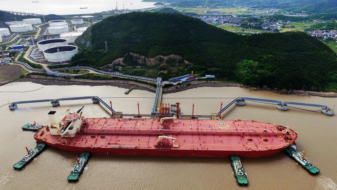 La importación del petróleo por China se acerca a niveles récord
