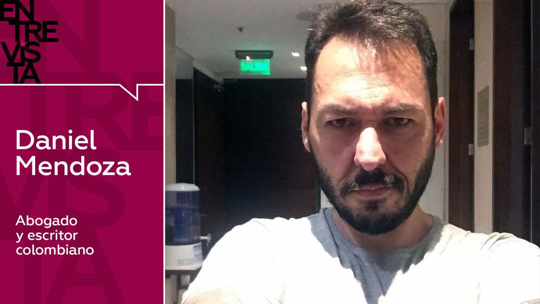"""Abogado y escritor Daniel Mendoza: """"En Сolombia todos saben que Uribe es un narcotraficante y un asesino"""""""