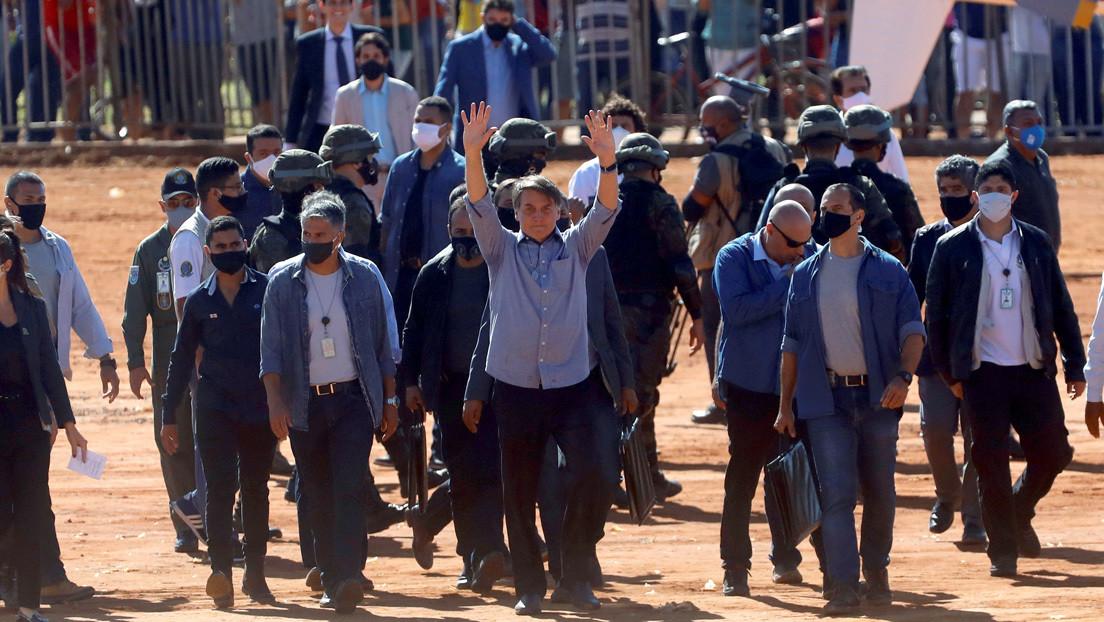 """Bolsonaro pide a las fuerzas de seguridad actuar en las protestas antifascistas si se exceden """"los límites de la ley"""""""