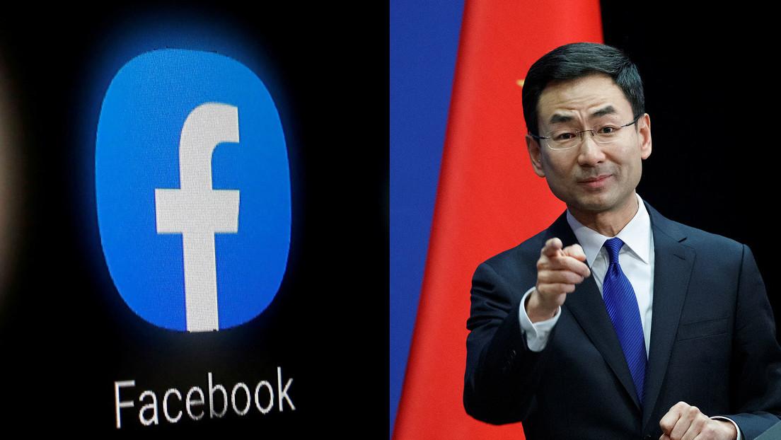 """China acusa a Facebook de """"sesgo ideológico"""" luego que la red social etiquetara los medios financiados por los Gobiernos"""