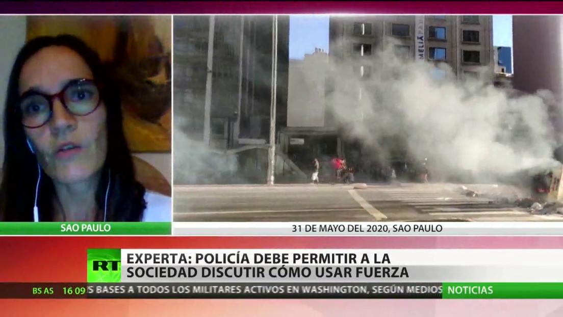 """Experta: """"La Policía de Brasil usa de manera excesiva la fuerza letal"""""""