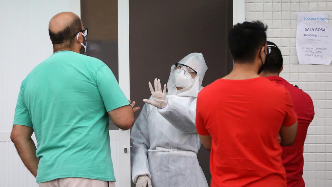 Brasil reporta más de 30.000 nuevos casos de coronavirus y 1.005 muertes en un día