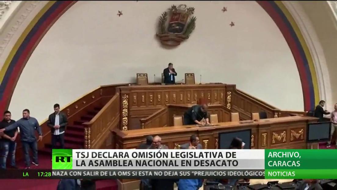 """El Tribunal Supremo de Justicia de Venezuela declara """"omisión inconstitucional"""" de la Asamblea Nacional"""