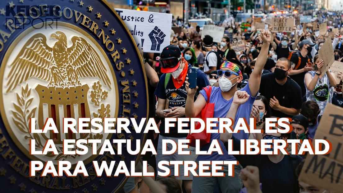 """Protestas en EE.UU.: mientras los ciudadanos saquean tiendas los ricos """"vacían la economía"""""""