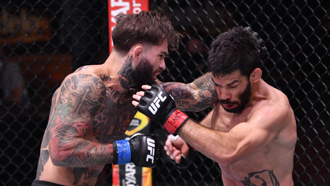 VIDEO: Un excampeón de la UFC que no ganaba desde 2016 aniquila a su rival con un nocaut brillante