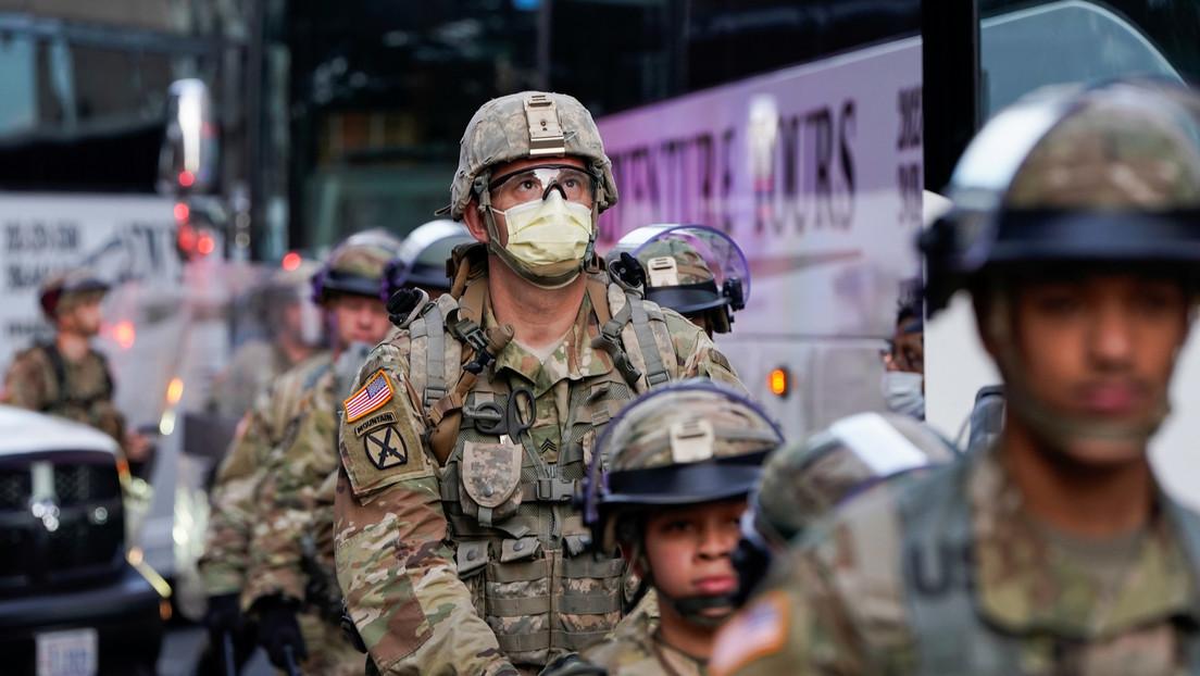 Trump ordena a la Guardia Nacional que se retire de Washington