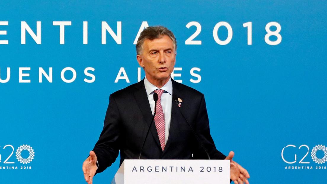 Escándalo en Argentina por denuncia de espionaje ilegal del gobierno de Mauricio Macri a 403 periodistas durante Cumbre del G20