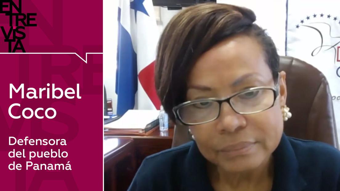 """Defensora del pueblo de Panamá: """"En el país existe una franca desigualdad y hemos tenido muchos problemas con el covid-19"""""""