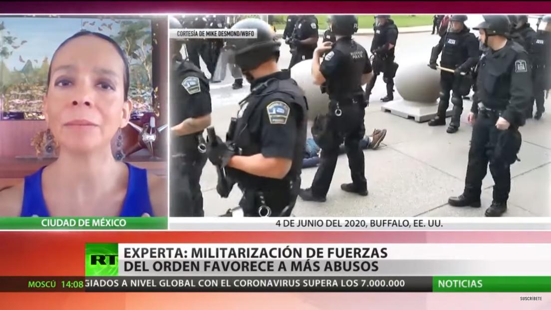 Experta: la militarización de fuerzas del orden en EE.UU. favorece los abusos