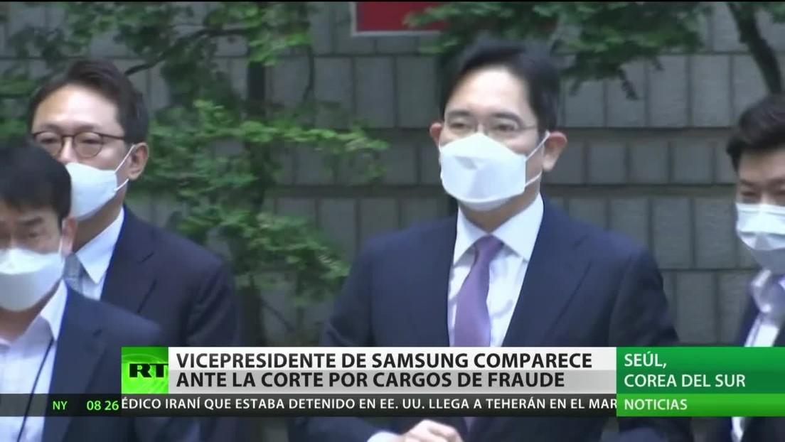 Corea del Sur: El vicepresidente de Samsung acude a la corte por cargos de fraude