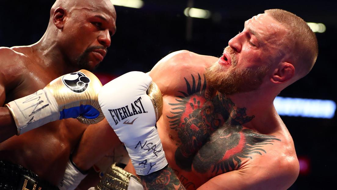 """Mayweather Jr. reta a Conor McGregor: """"Esperaré para castigarte de nuevo"""""""