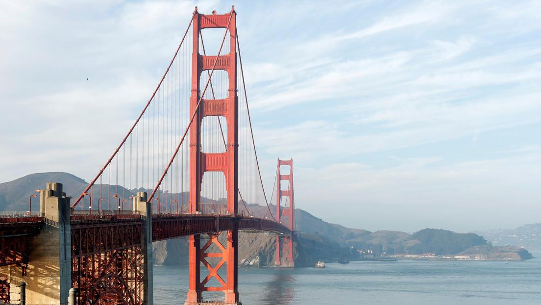 VIDEOS: El Golden Gate de San Francisco emite un misterioso 'canto' tras una obra de renovación