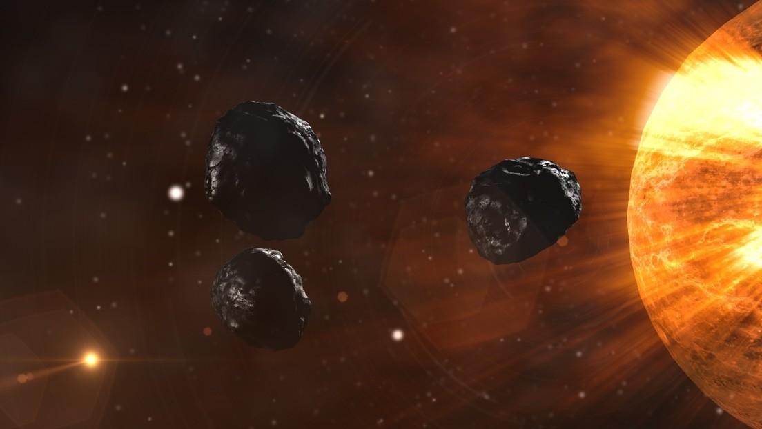Científicos suponen que los impactos de asteroides pudieron crear elementos para la vida en la Tierra y Marte