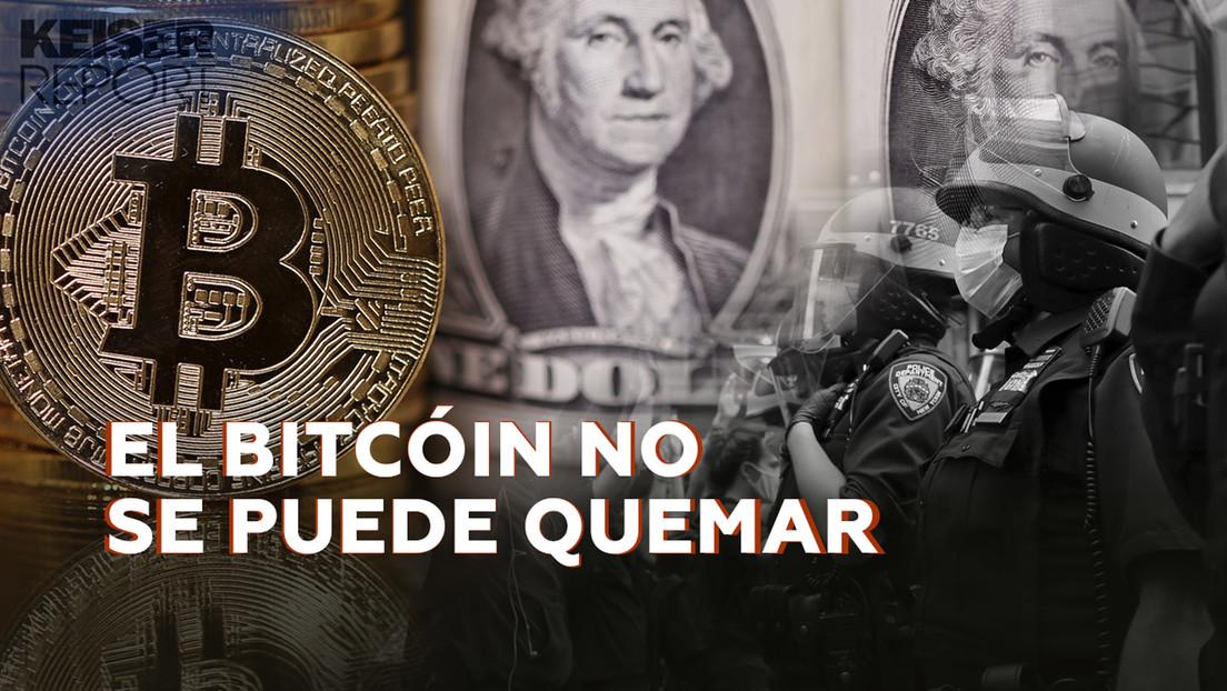 """""""Si utilizamos un dinero malo, quienes lo controlan también nos controlan a nosotros"""""""