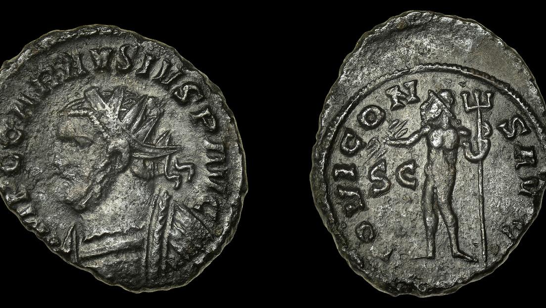 Encontró una moneda antigua cuando era niño y cinco décadas después la vende por más de 5.000 dólares