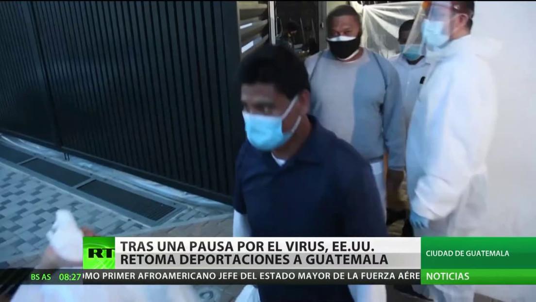 EE.UU. retoma las deportaciones a Guatemala tras la pausa por el covid-19