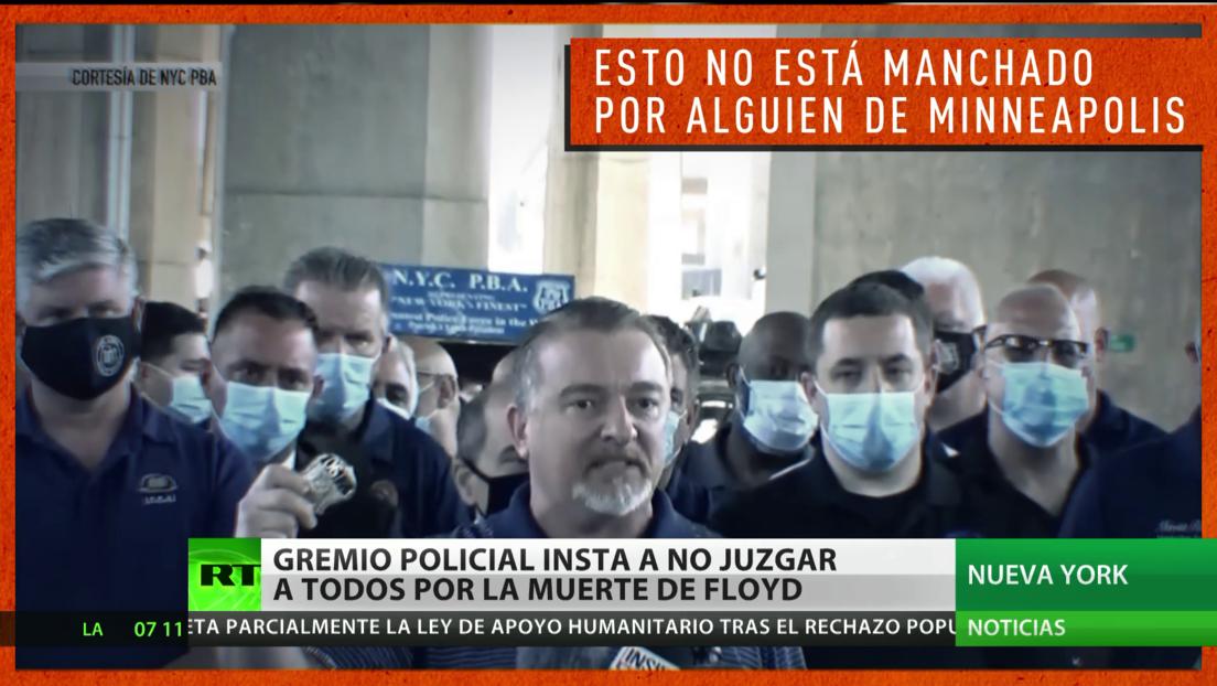 EE.UU.: Ante las peticiones de cambios del sistema policial, los agentes piden no generalizar por lo sucedido en Mineápolis