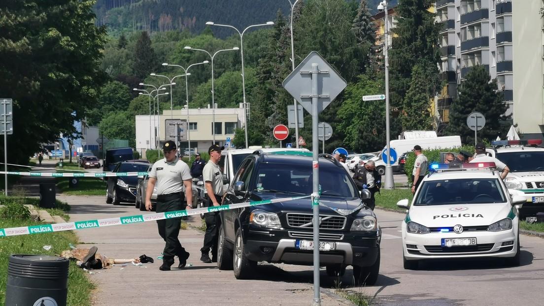 Al menos un muerto y cinco heridos en un ataque en una escuela de Eslovaquia
