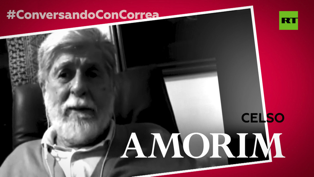 """Celso Amorim a Correa, sobre la situación de Brasil con Bolsonaro: """"Es una patología grave que estamos viviendo, pero va a ser superada"""""""