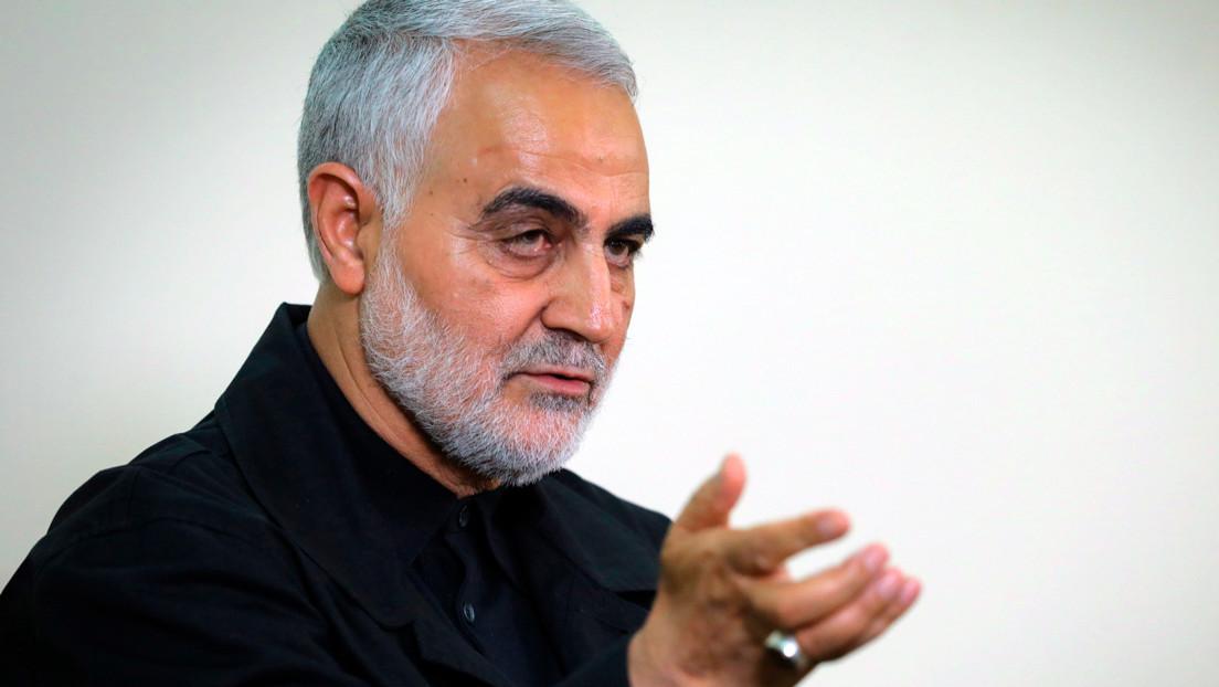 Irán publica una foto del condenado a muerte por filtrar el paradero de Qassem Soleimani