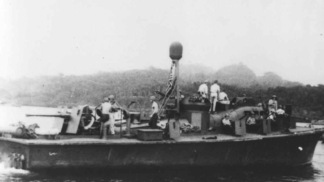 Encuentran un bote patrullero que fue comandado por Kennedy en la Segunda Guerra Mundial
