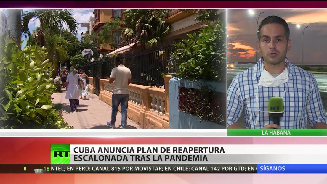 Cuba anuncia un plan de reapertura escalonada a medida que supera la pandemia