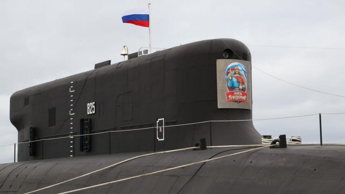 Un nuevo submarino nuclear entra al servicio de la Armada de Rusia