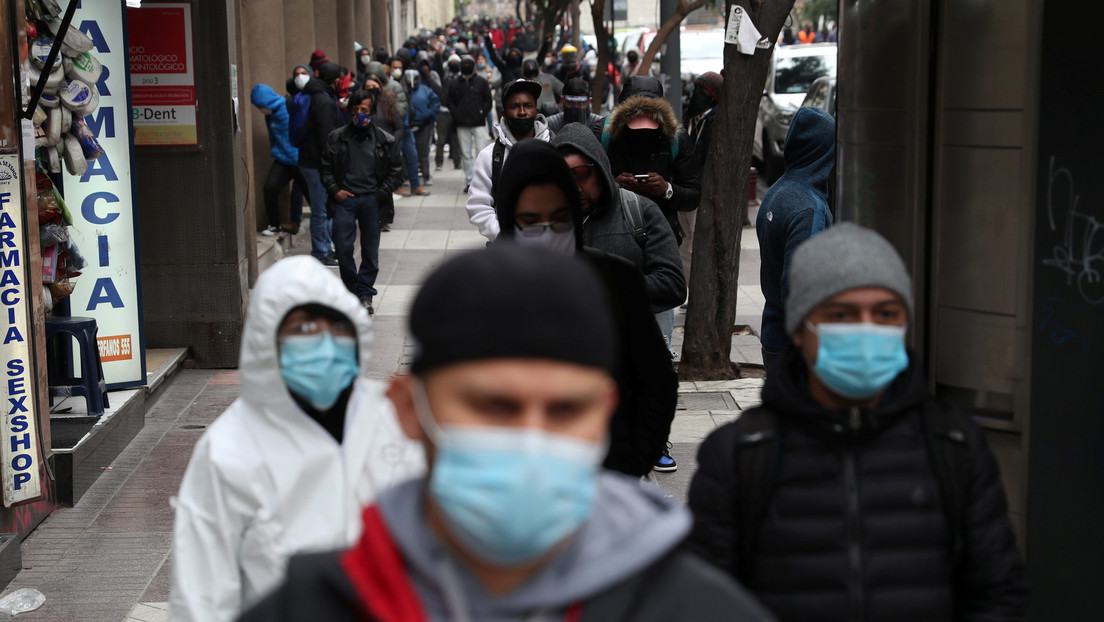 Chile reporta las cifras diarias más alta desde el inicio de la pandemia: 6.754 contagios y 222 fallecimientos