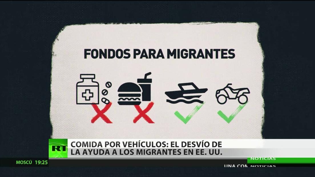 Desvían parte del fondo de ayuda a migrantes en EE.UU.