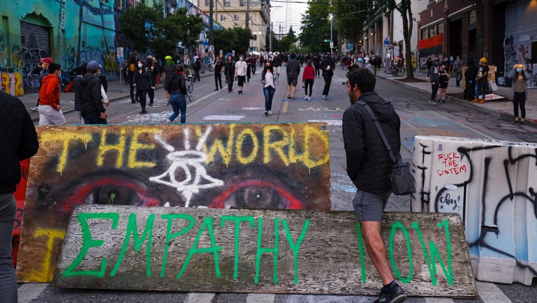 "Trump critica a la alcaldesa de Seattle por comparar la ""toma anarquista"" de la urbe con el Verano del Amor del 67"