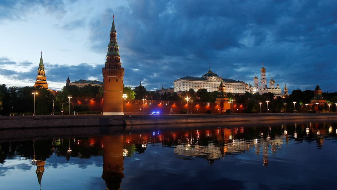 VIDEO: El Kremlin se ilumina con una proyección por el Día de Rusia