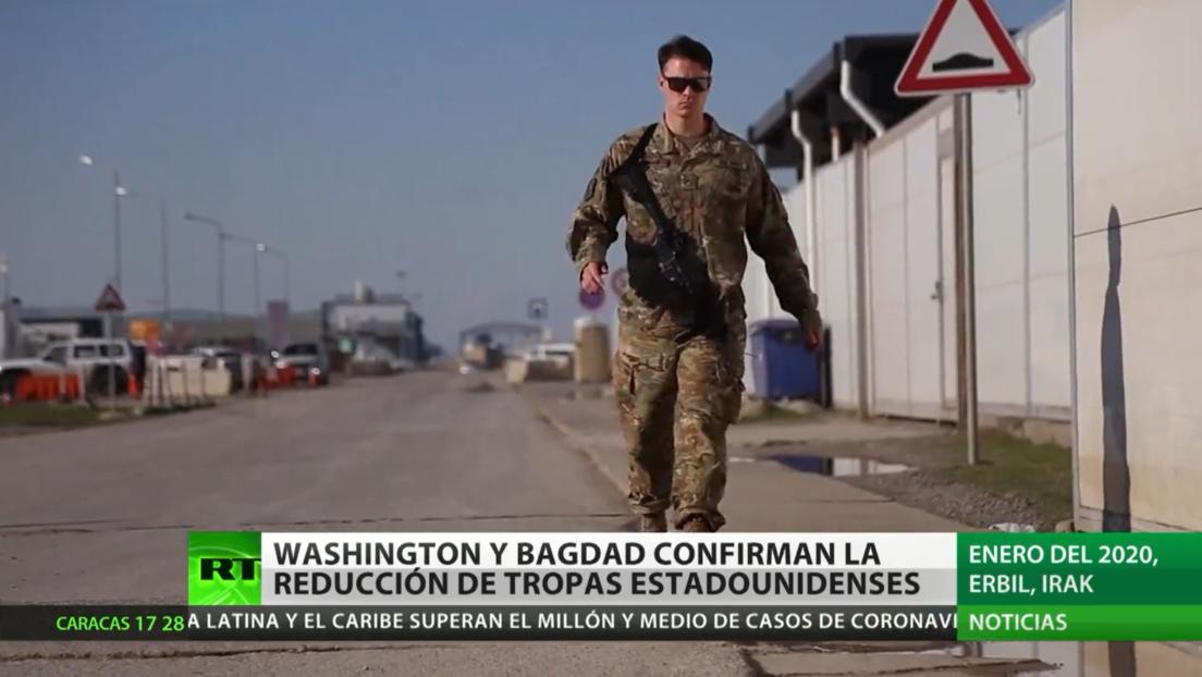Washington y Bagdad confirman la reducción de tropas estadounidenses en Irak