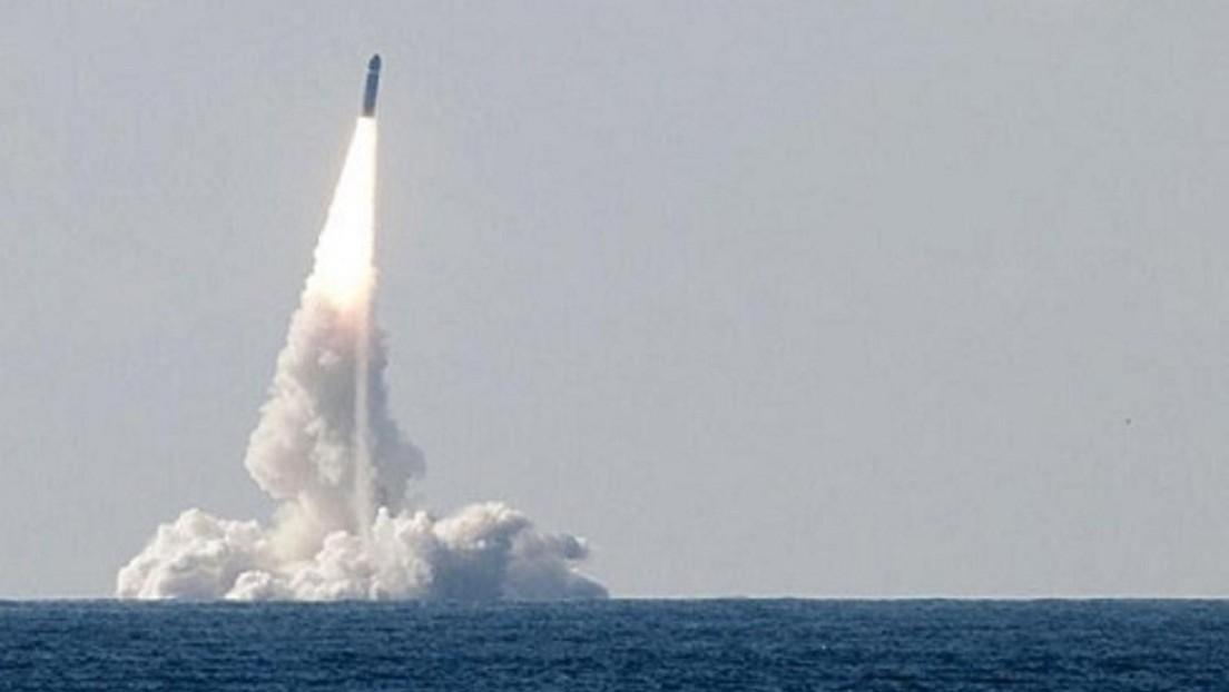 Francia prueba con éxito un misil balístico lanzado desde un submarino en la costa atlántica