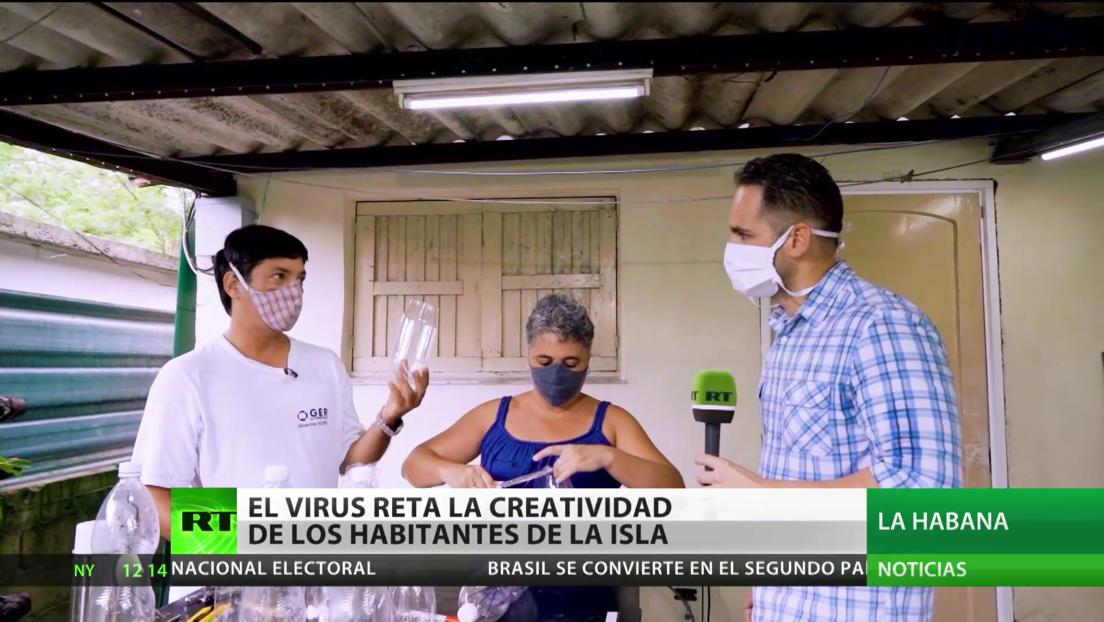 Cuba: El coronavirus pone a prueba la creatividad de los habitantes de la isla