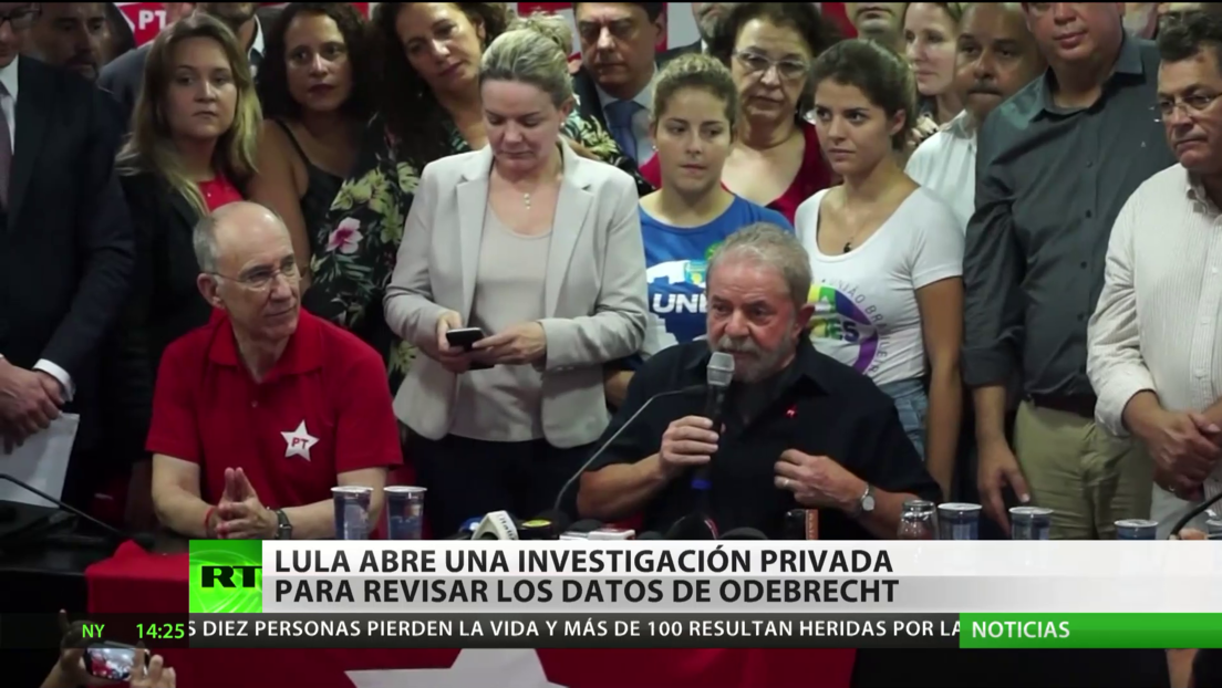 Lula inicia una investigación privada para revisar los datos de Odebrecht