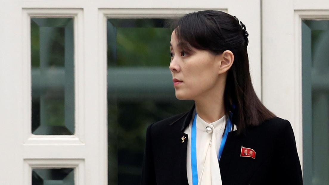 La hermana de Kim Jong-un amenaza a Corea del Sur con pasar a las acciones militares