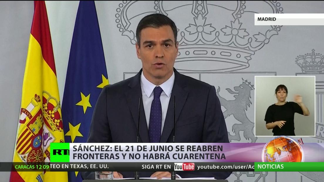 España abrirá sus fronteras con la zona Schengen antes de la fecha prevista