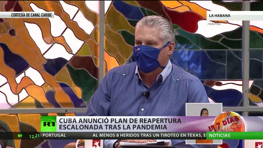 Cuba anuncia un plan de reapertura escalonada tras la pandemia