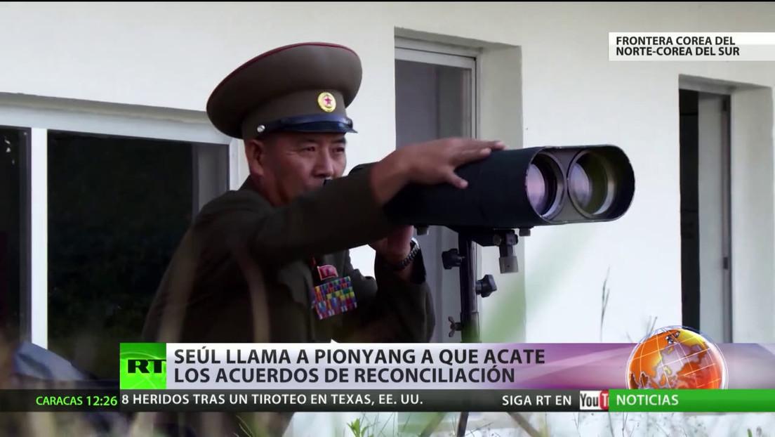 Corea del Sur insta a Corea del Norte a acatar los acuerdos de reconciliación