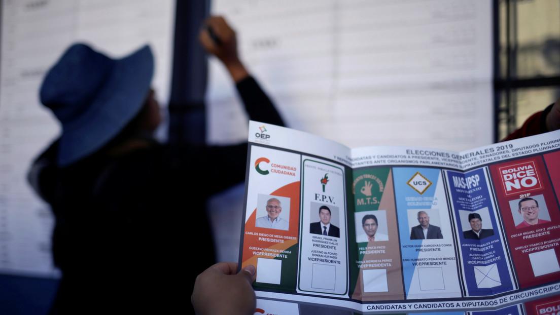 """Tribunal Supremo Electoral de Bolivia presenta una denuncia penal por """"alteración de resultados"""" en las elecciones de 2019"""