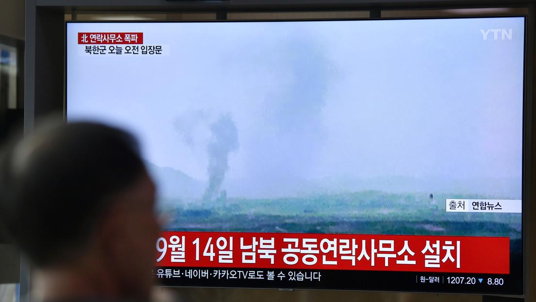 """Corea del Norte tras la destrucción de la oficina de enlace intercoreana: """"Ya hemos interrumpido todas las líneas de comunicación entre ambas partes"""""""