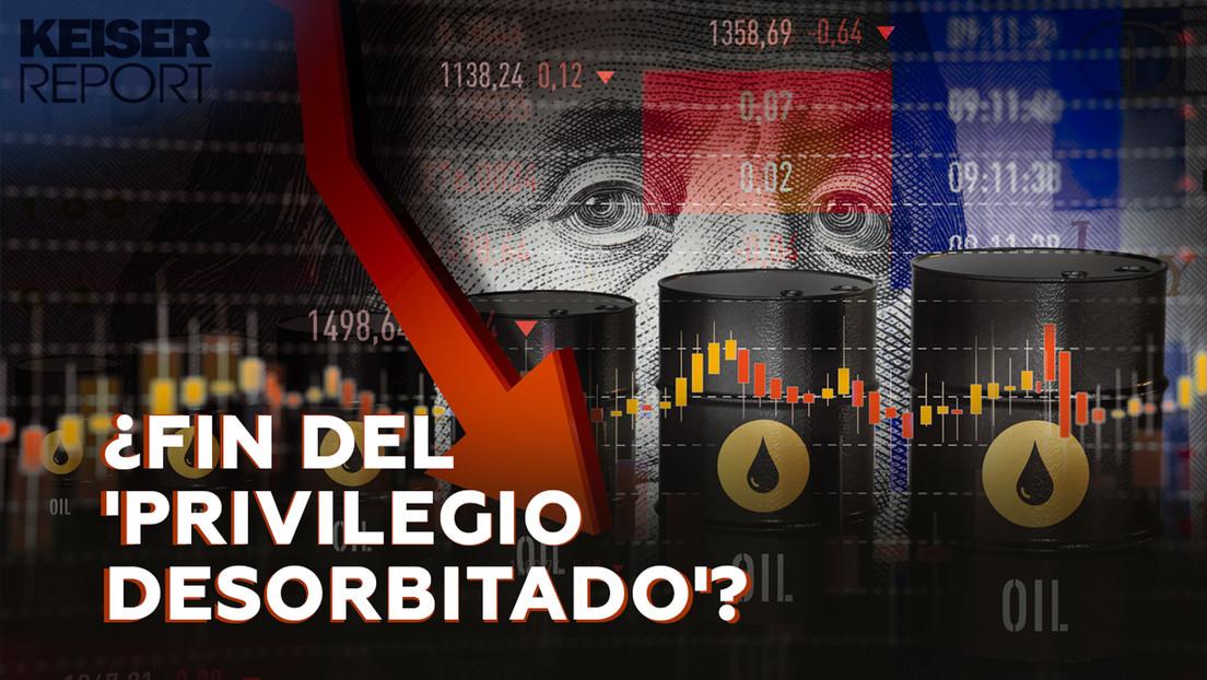 """""""La era de privilegio sin límites del dólar como principal moneda de reserva internacional está llegando a su fin"""""""