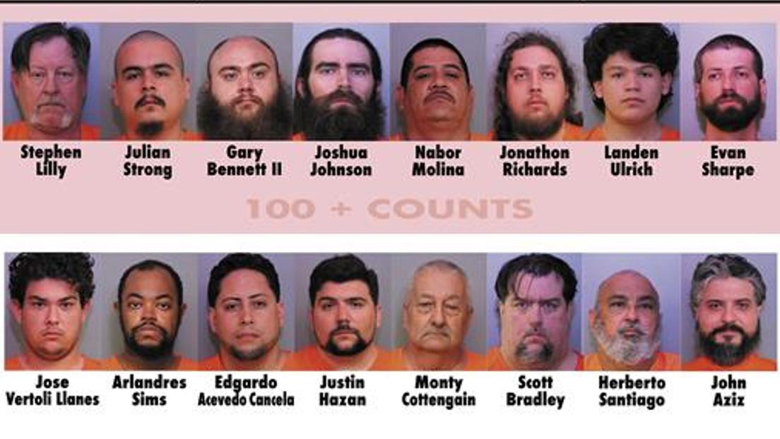 Arrestan por pornografía infantil a 16 estadounidenses, entre ellos 2 empleados de Disney World
