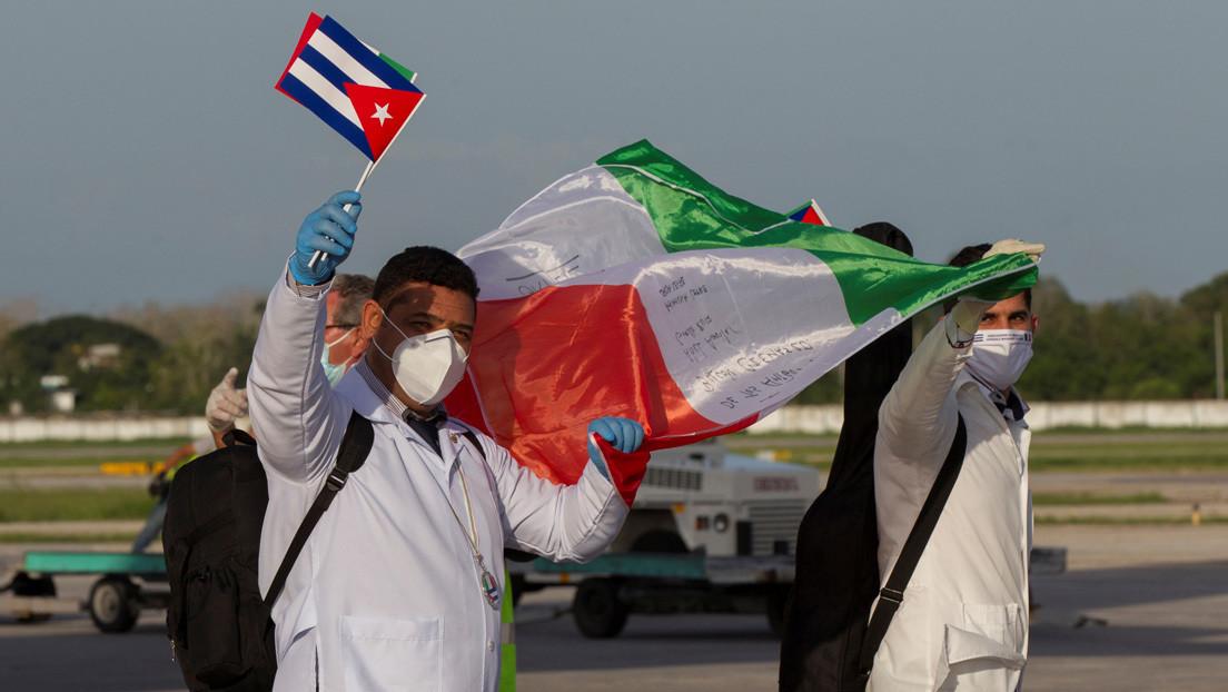 Piden el Premio Nobel de la Paz para la brigada de médicos cubanos que lucharon contra el coronavirus en una treintena de países