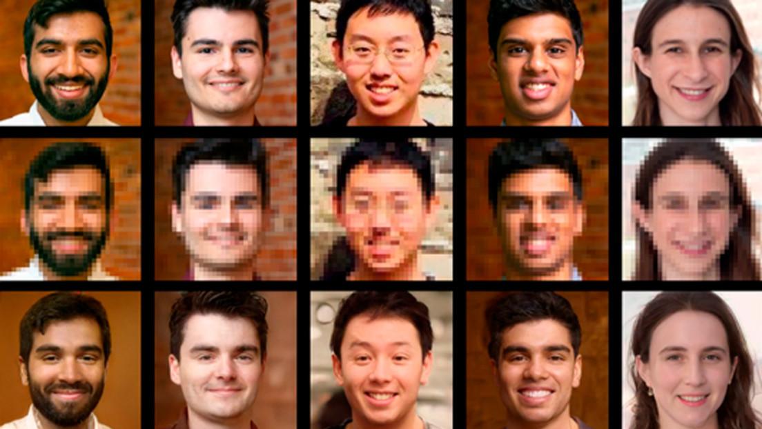 Crean un sistema con inteligencia artificial que permite transformar fotos borrosas de rostros en imágenes de alta calidad