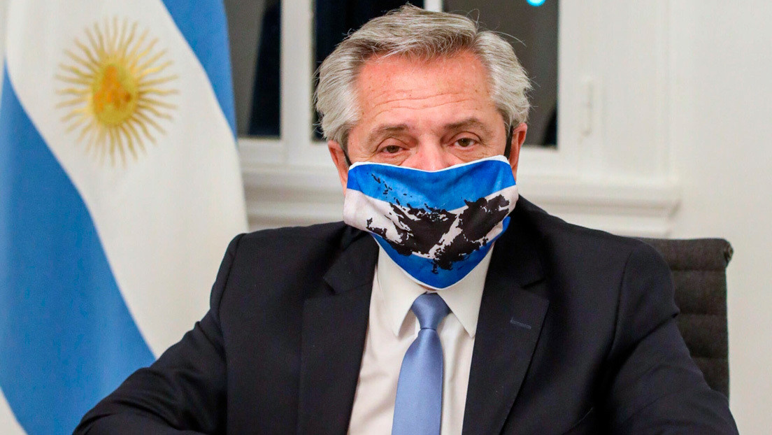 El presidente Alberto Fernández restringe al máximo sus actividades por la  expansión de la pandemia en Argentina - RT