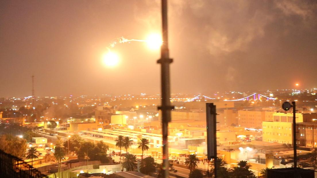 Reportan la caída de cuatro misiles en la Zona Verde de Bagdad