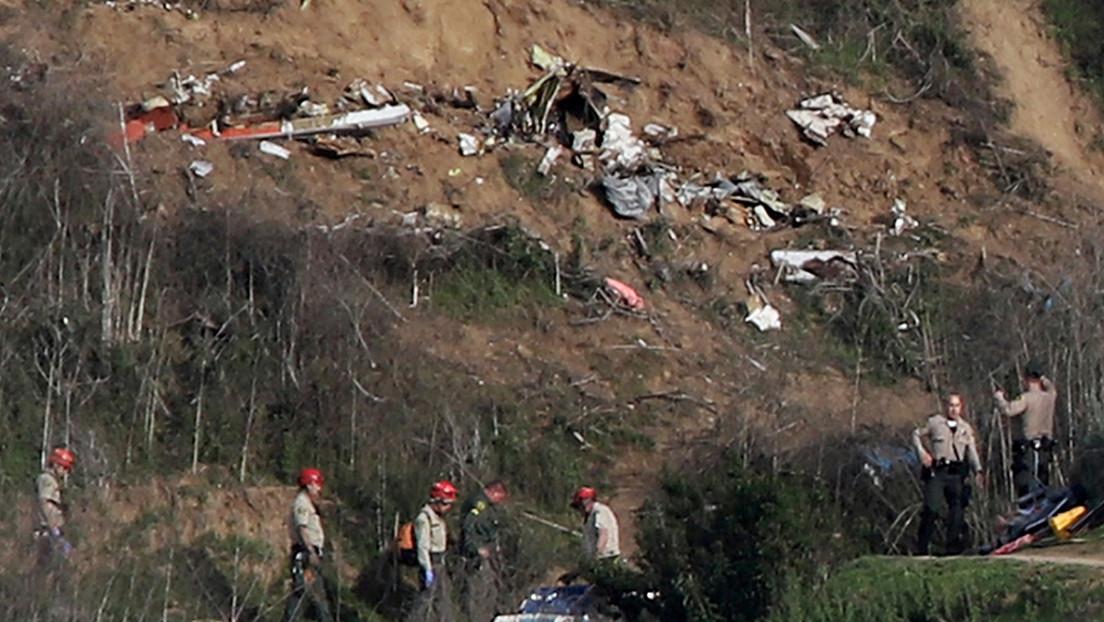 Informe revela que el piloto del helicóptero en el que murió Kobe Bryant se habría desorientado por la niebla